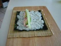 Sushi Rice Spread Out